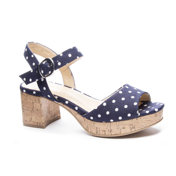 Chinese Laundry Kensie Dress Sandals in Navy