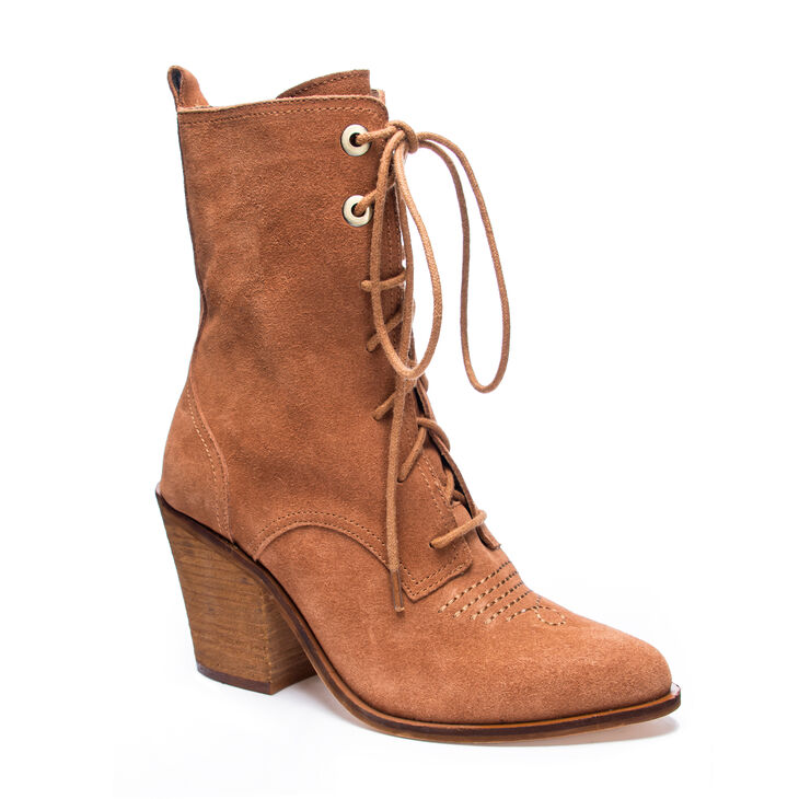 Chinese Laundry Sabrina Boots in Agedcognac