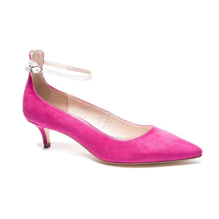 Chinese Laundry Honeyy Pumps in Magenta