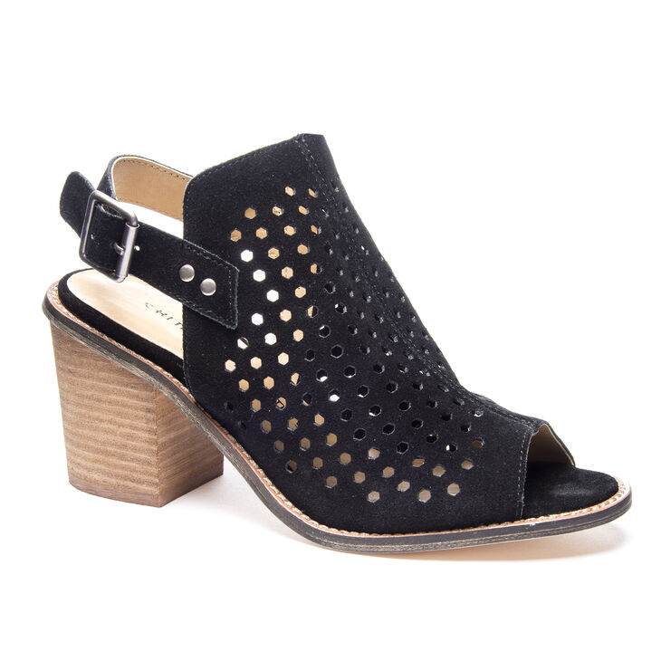 Chinese Laundry Carnival Booties Sandals in Black