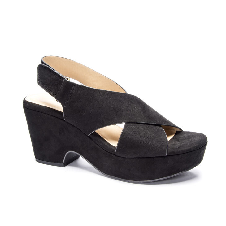 Chinese Laundry Capital Wedges in Black