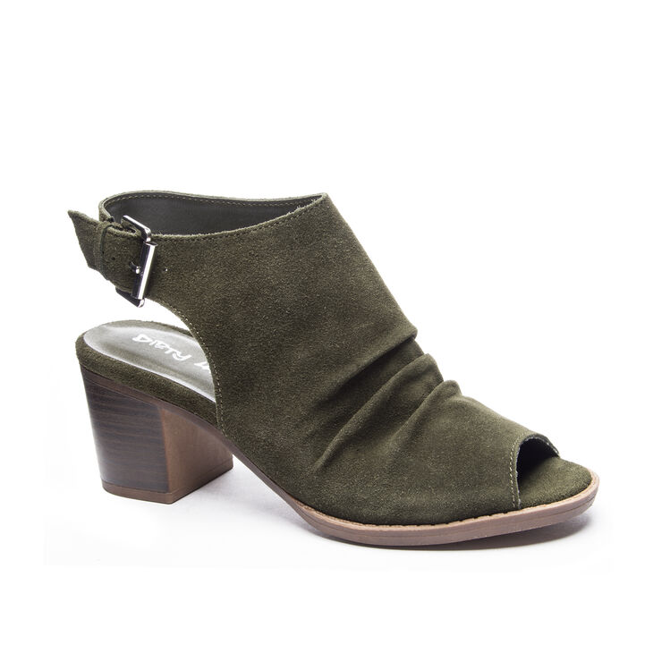 Dirty Laundry Tena Heels in Olive