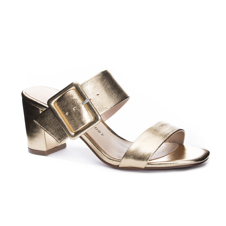 Chinese Laundry Yippy Sandals in Gold