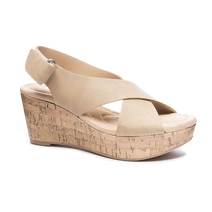 CL by Laundry Dream Girl Sandals in Nude