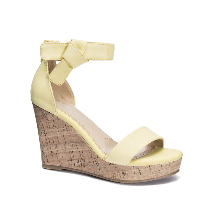 CL by Laundry Blisse Dress Sandals in Banana