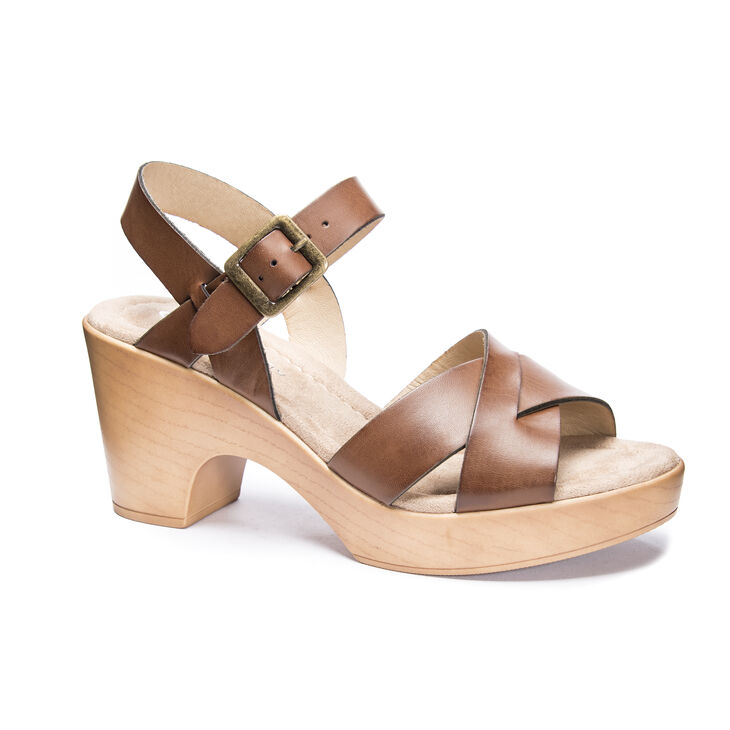 CL by Laundry Amiya Sandals in Richbrown