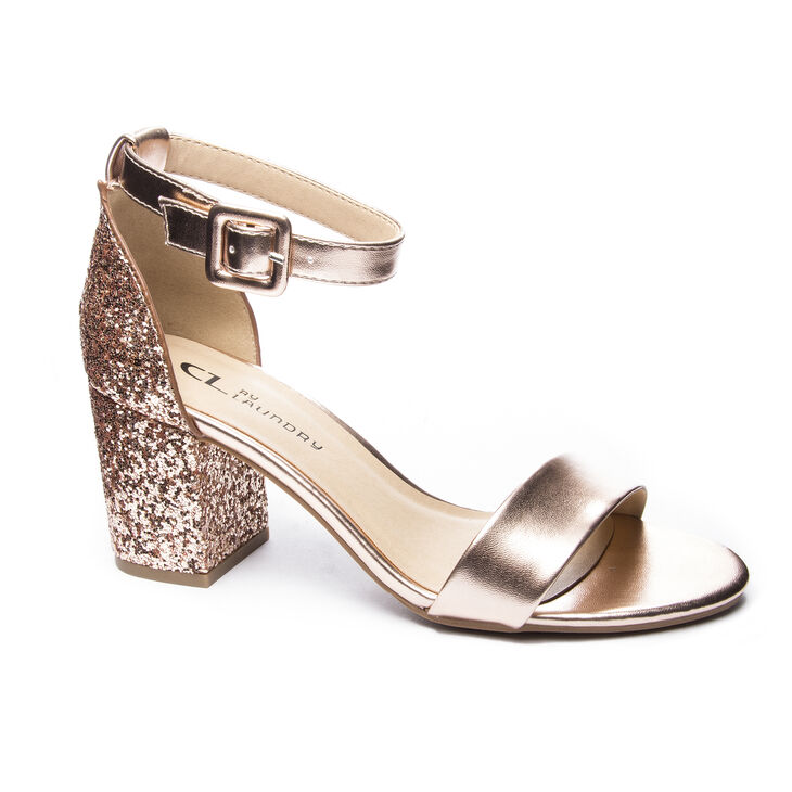 Chinese Laundry Jody Dress Sandals in Rose Gold