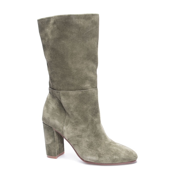 Chinese Laundry Keep Up Boots in Willowgreen