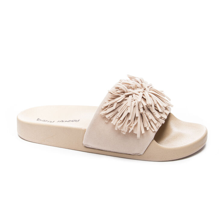 Dirty Laundry Faron Slide Heels in Natural
