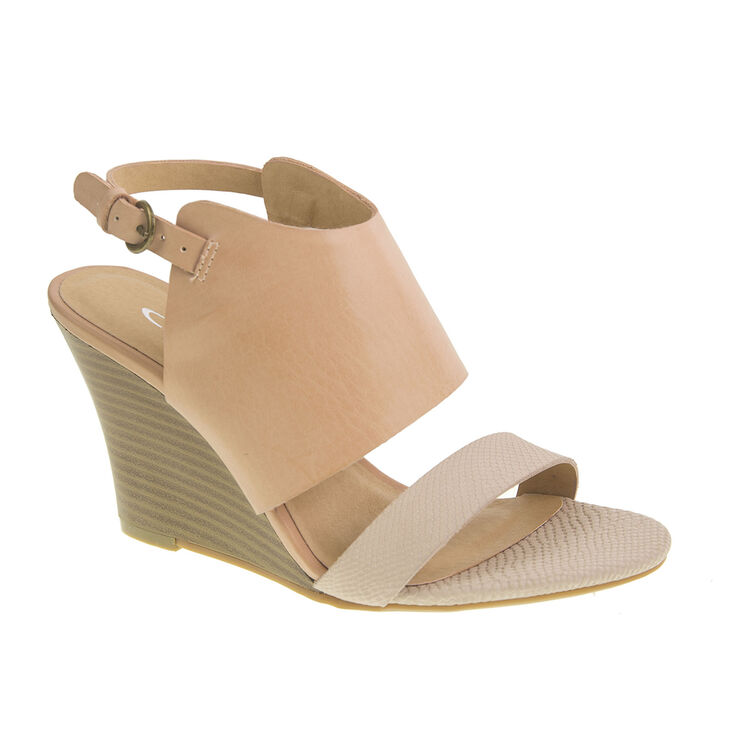 Chinese Laundry Baja Sandals in Taupe/blush