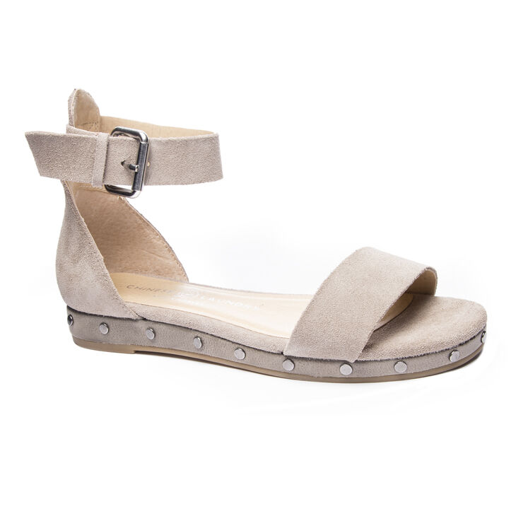 Chinese Laundry Grady Sandals in Cool Taupe
