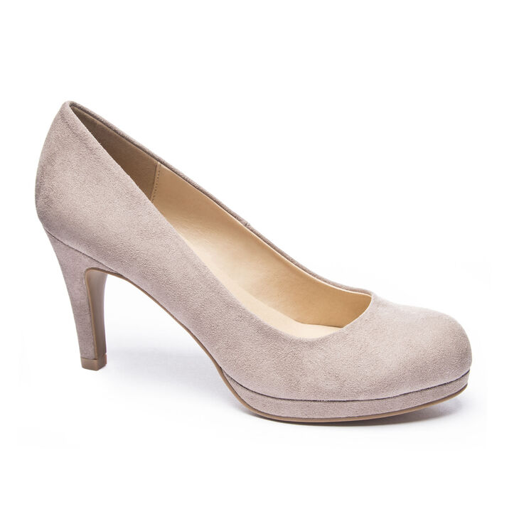 Chinese Laundry Nilah Pumps in Pebble Taupe