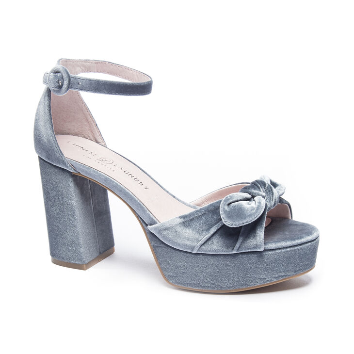 Chinese Laundry Tina Sandals in Steel Blue