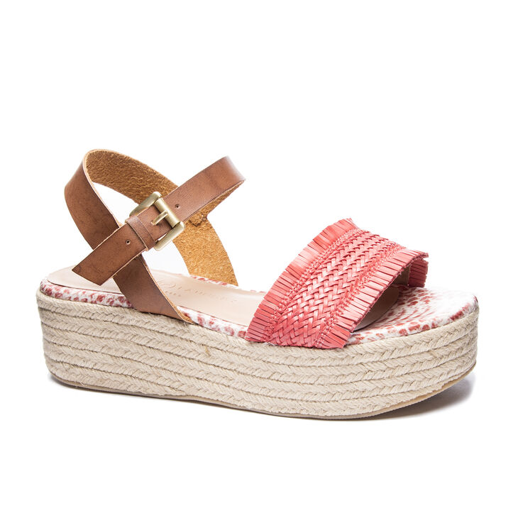 Chinese Laundry Ziba Sandals in Rich Brown