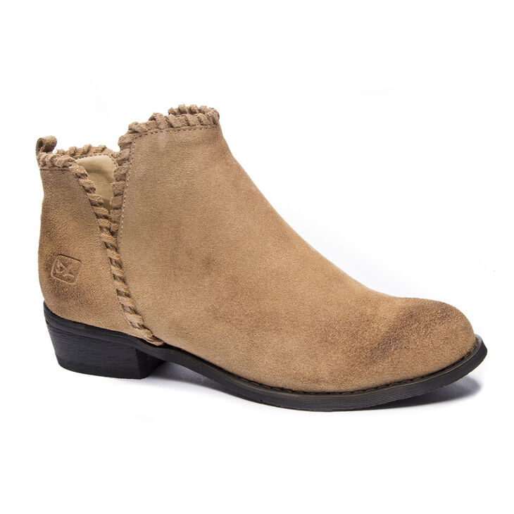 Chinese Laundry Crossroads Boots in Sand Brown