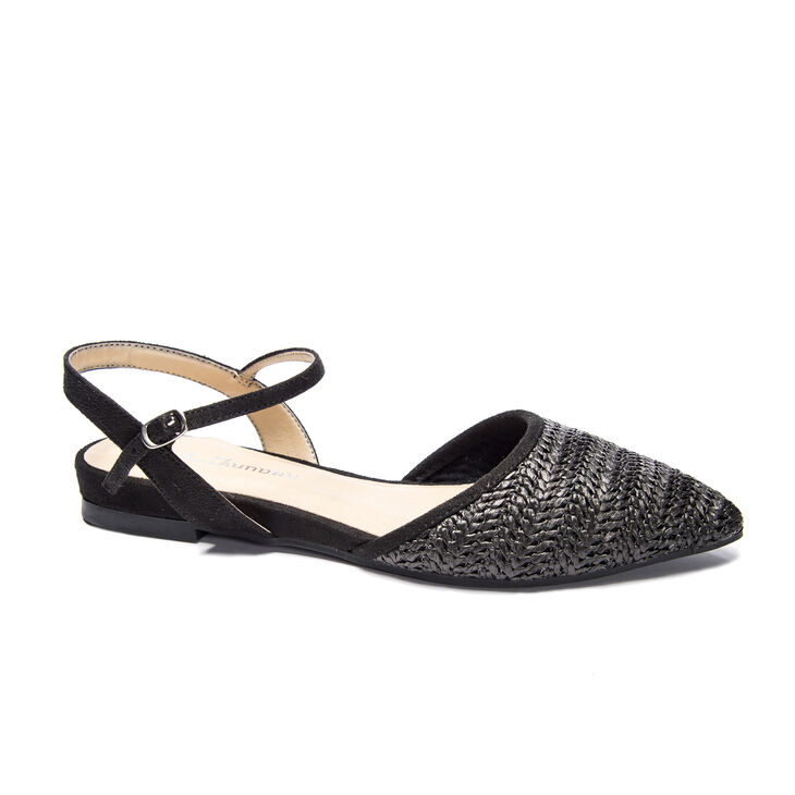 Chinese Laundry Hippie Flats in Black