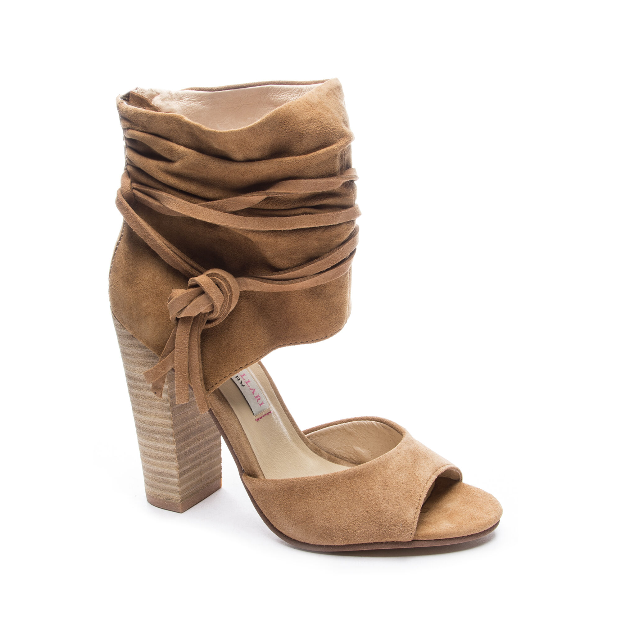Leigh 2 Suede Two-Piece Sandal