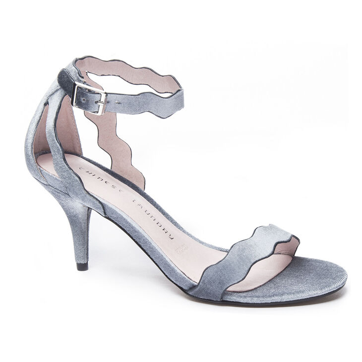 Chinese Laundry Rubie Dress Sandals in Steel Blue