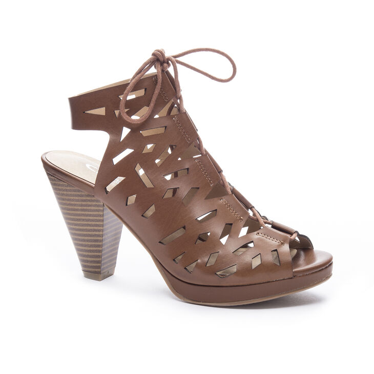 Chinese Laundry Whizz Sandals in Rich Brown
