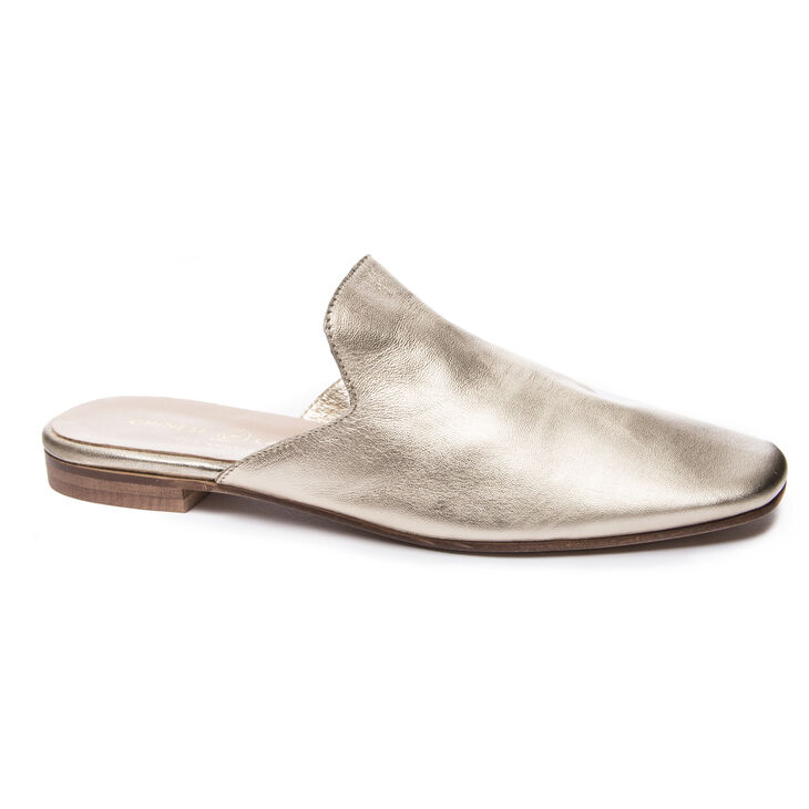 Chinese Laundry Jump To It Mule Flats in Gold