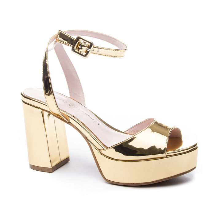 Chinese Laundry Theresa Sandals in Gold