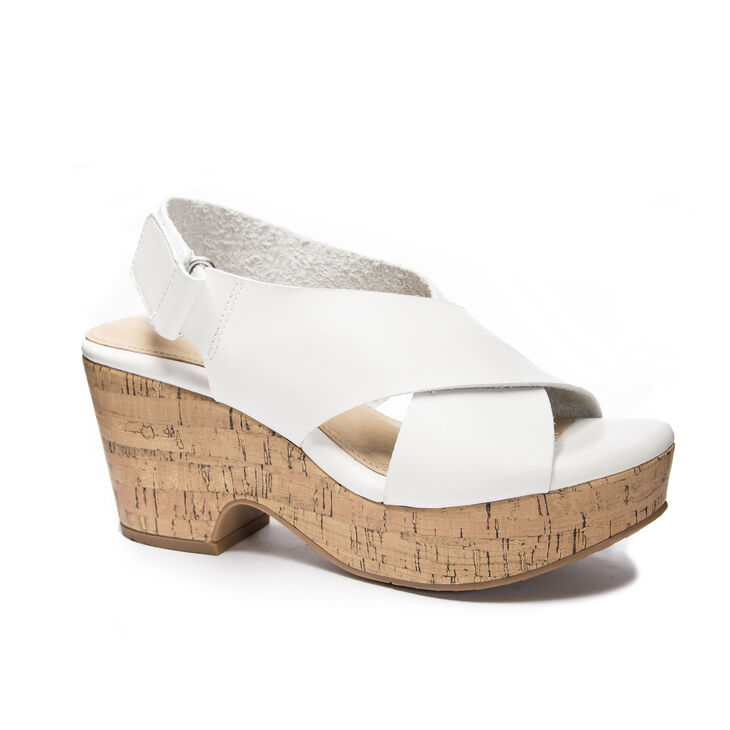 CL by Laundry Chosen Wedges in White