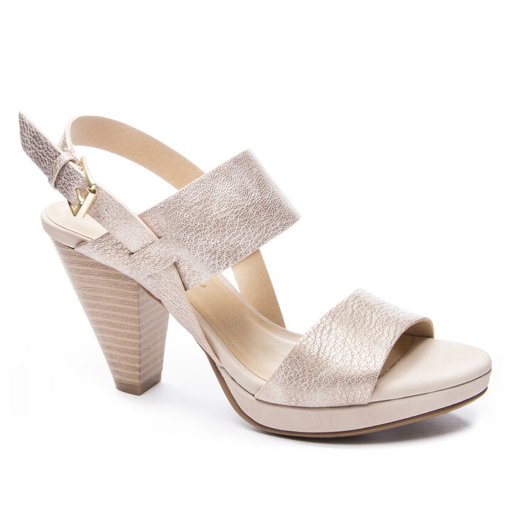 Chinese Laundry Worthy Sandals in Rose Gold
