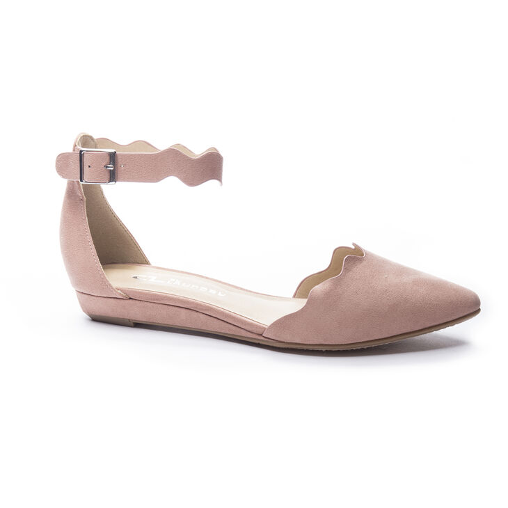 Chinese Laundry Studio Flat Sandals in Dusty Rose