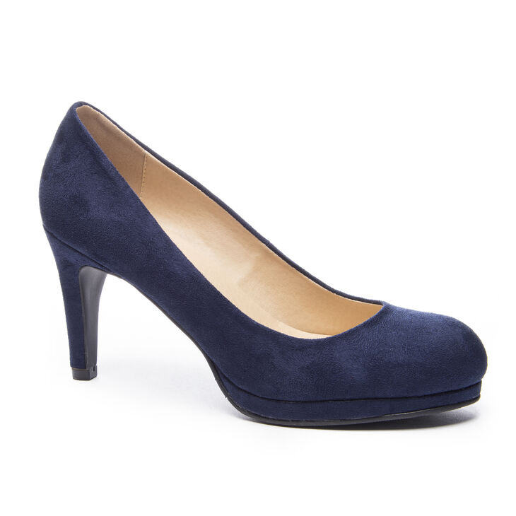 Chinese Laundry Nilah Pumps in Navy