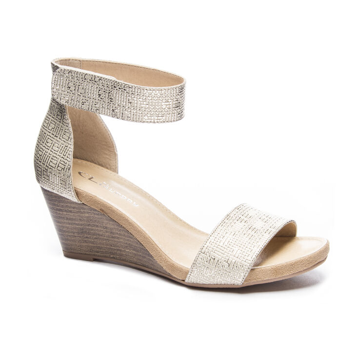 Chinese Laundry Hot Zone Dress Sandals in Gold
