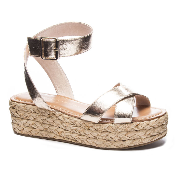 Chinese Laundry Zodiac Sandals in Gold