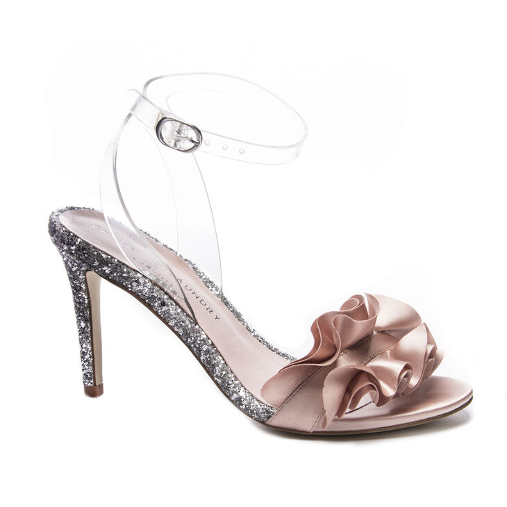 Chinese Laundry Jainey Sandals in Nude/clear