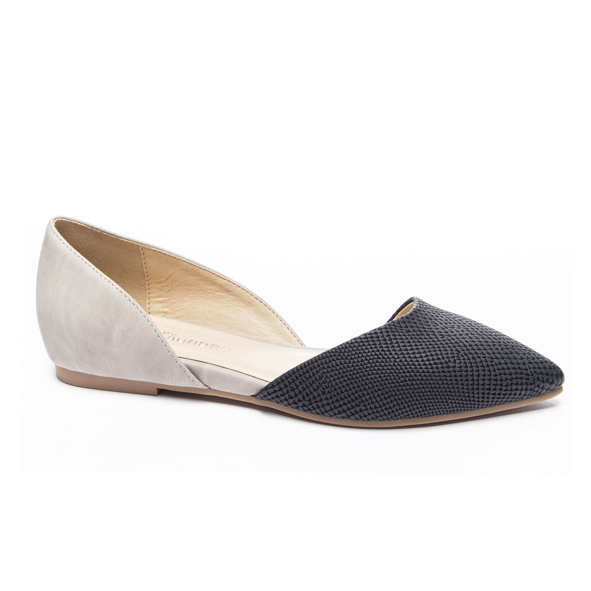 2ea51c780 CL by Laundry Hearty Snake Pointed Toe Flat   Chinese Laundry