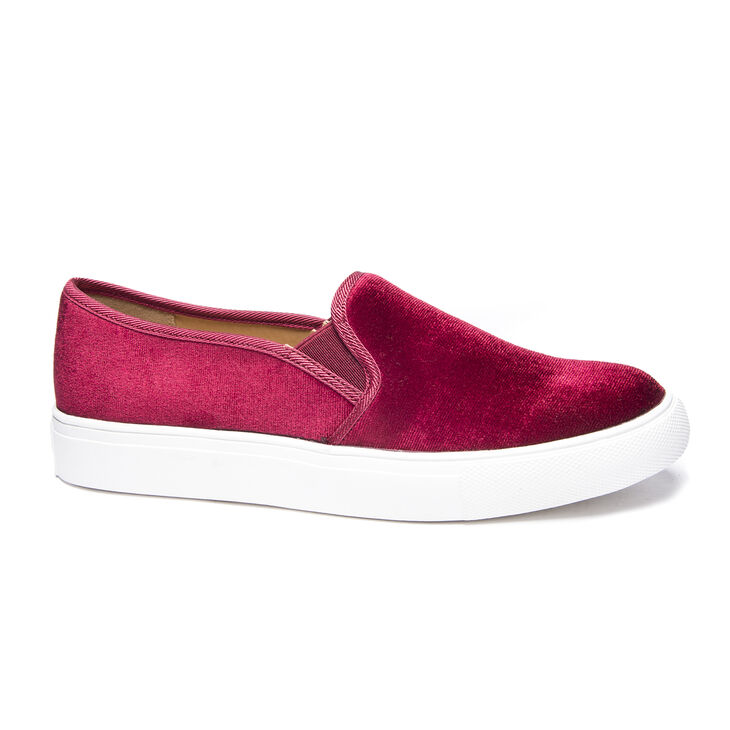 Chinese Laundry Franklin Sneakers in Merlot