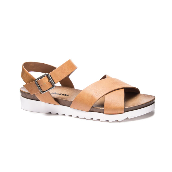 Chinese Laundry Charley Sandals in Cognac