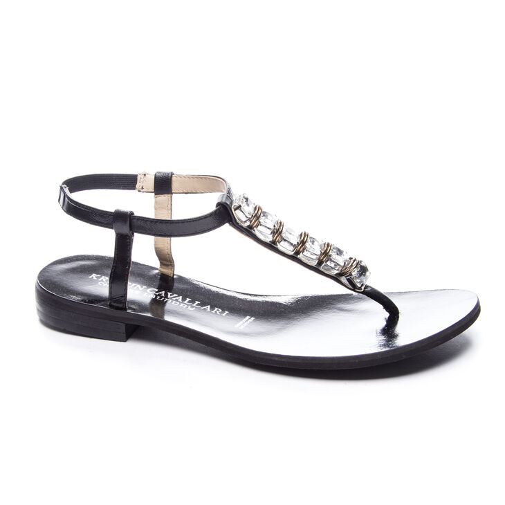 Kristin Cavallari Chinese Laundry Grace Thong Sandals in Black