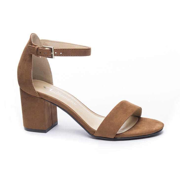 Chinese Laundry Jessie Sandals in Whiskey