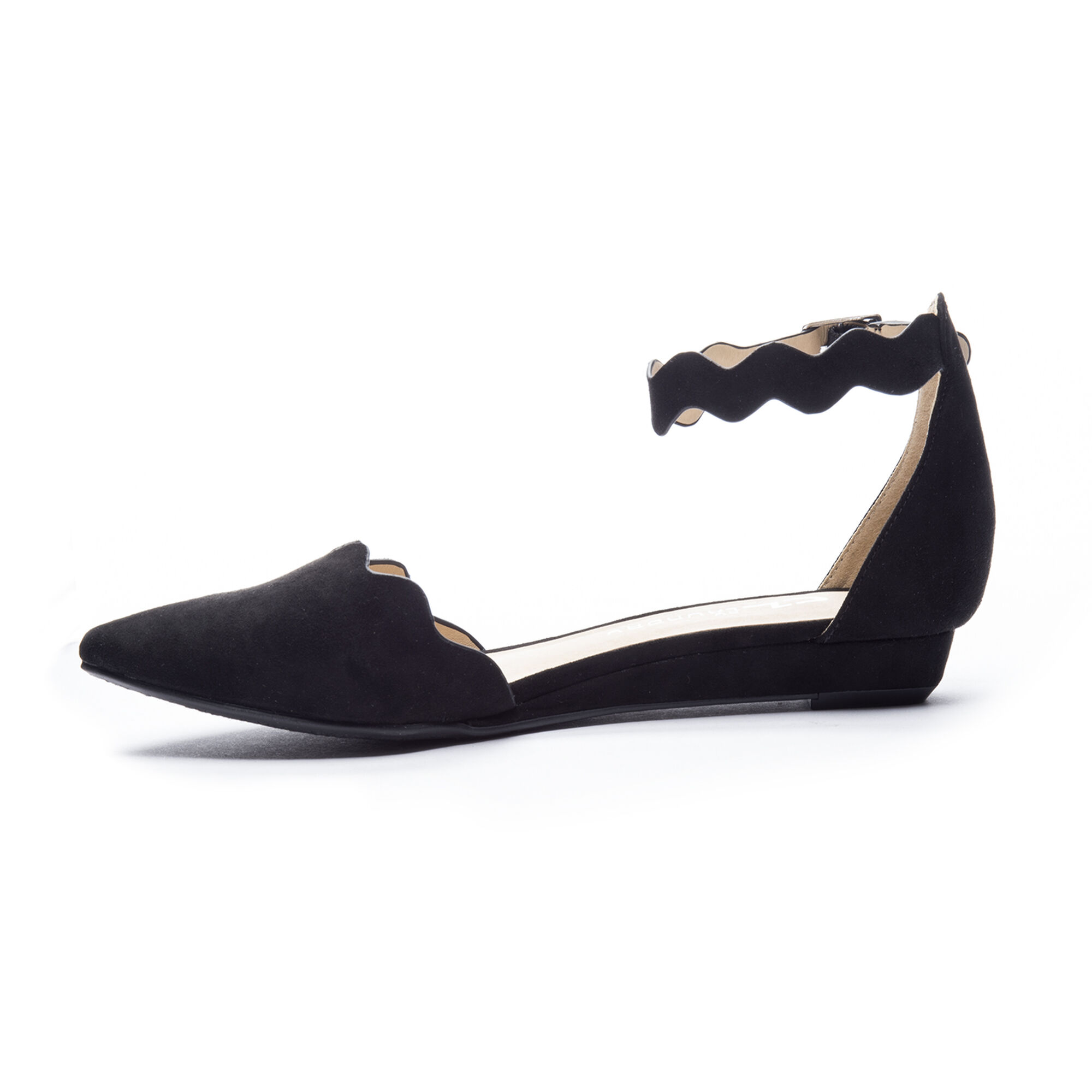Studio D Orsay Ankle Strap Flat Chinese Laundry