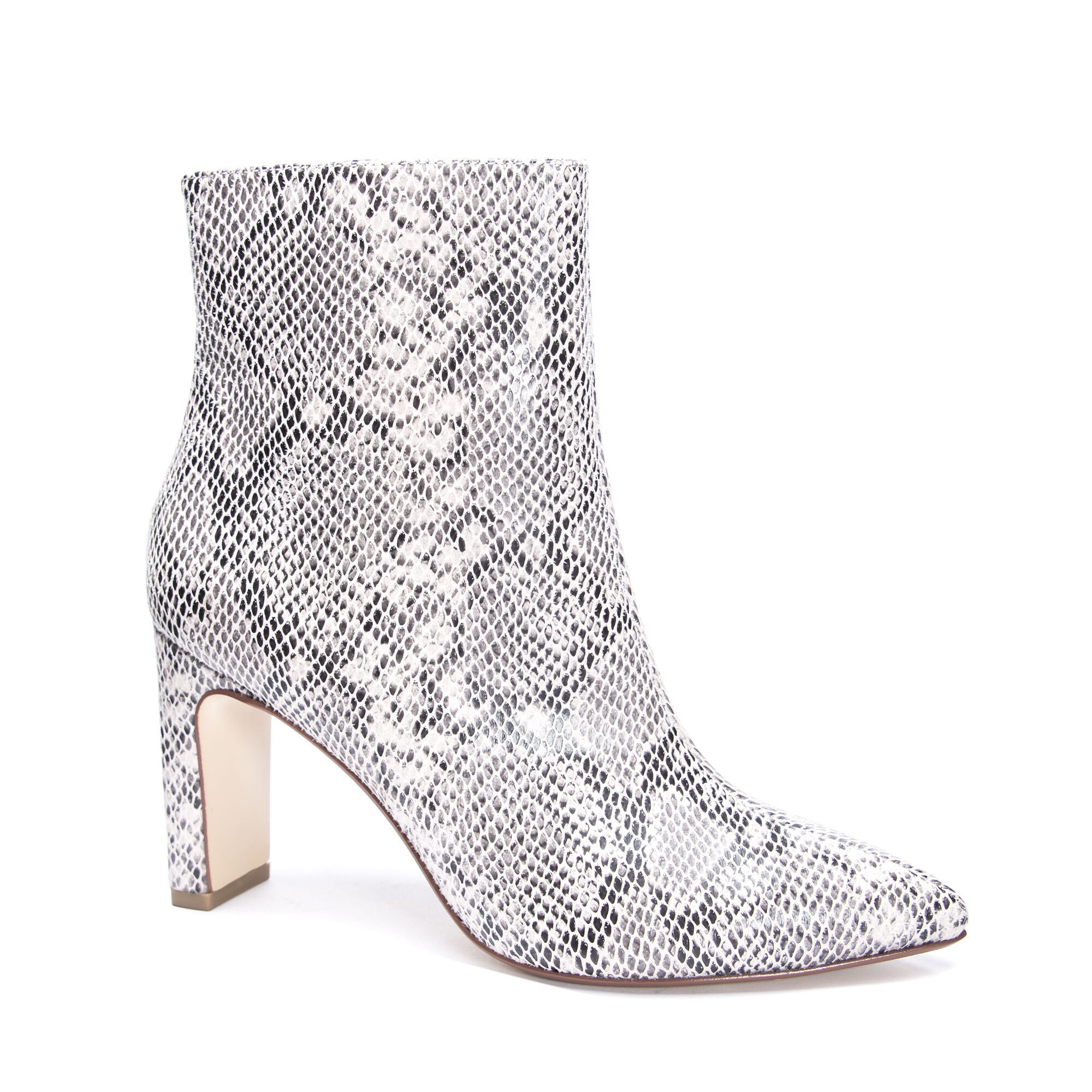 Erin Snakeskin Ankle Bootie | Chinese