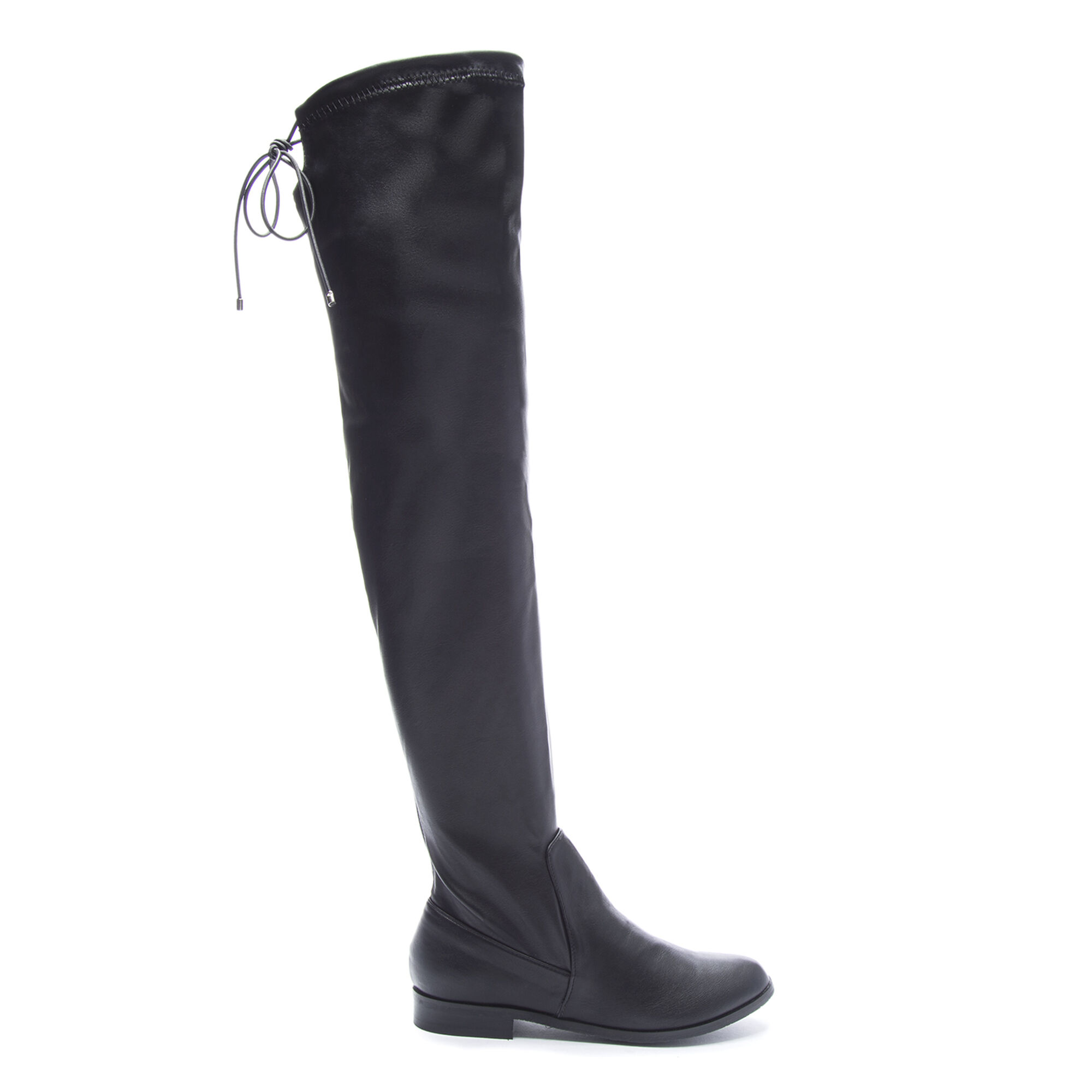 Black Stretch Over The Knee Boots Chinese Laundry