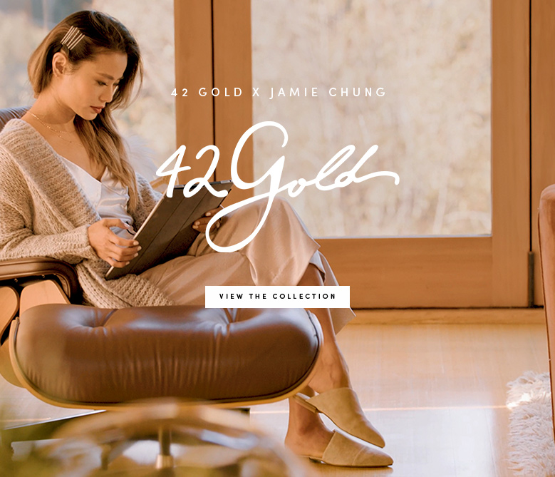 ef650e1001fb Introducing 42 Gold featuring Jamie Chung - View the Collection ...